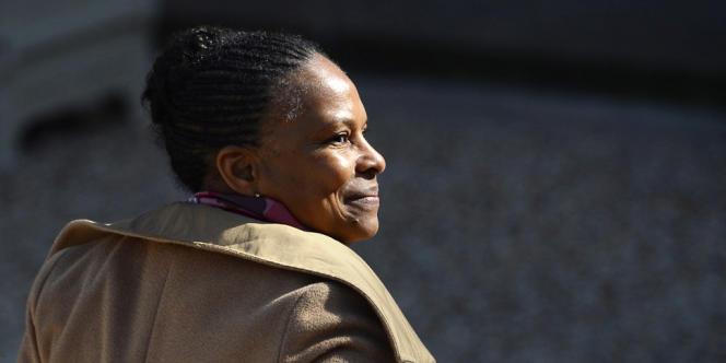 La ministre de la justice, Christiane Taubira, le 17novembre2013.