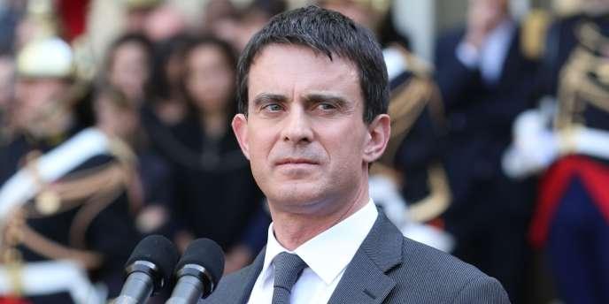 Manuel Valls, premier ministre, le 1eravril.