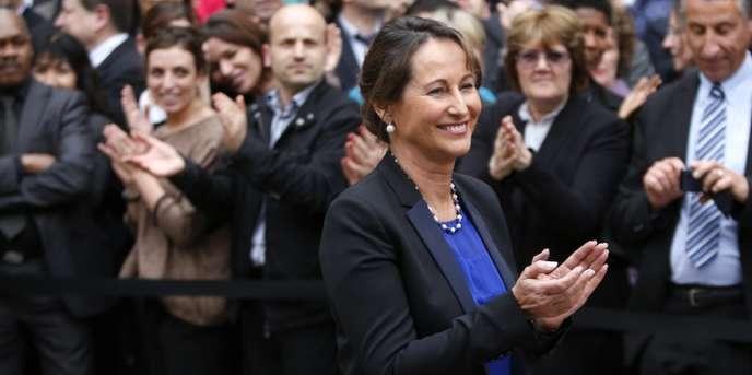 Ségolène Royal, le 2 avril à Paris.