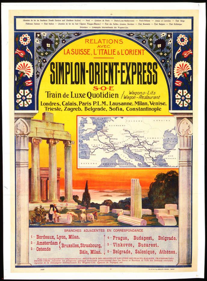 Affiche de Joseph Porphyre (vers 1925).