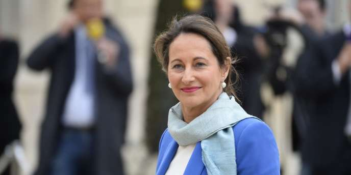 Ségolène Royal le 4 avril.