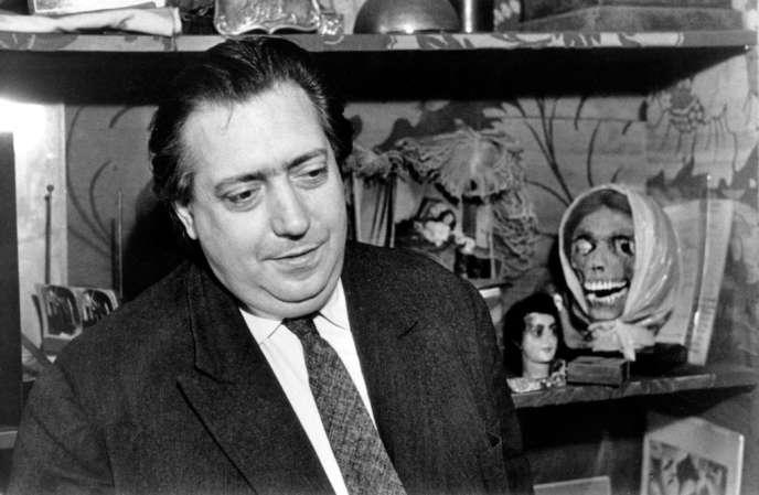 Henri Langlois, fondateur de La Cinémathèque française.