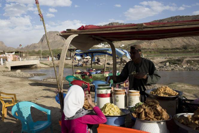 Kandahar, le 22 mars. Les forces américaines ont quitté la province, maintenant contrôlée par la police afghane.