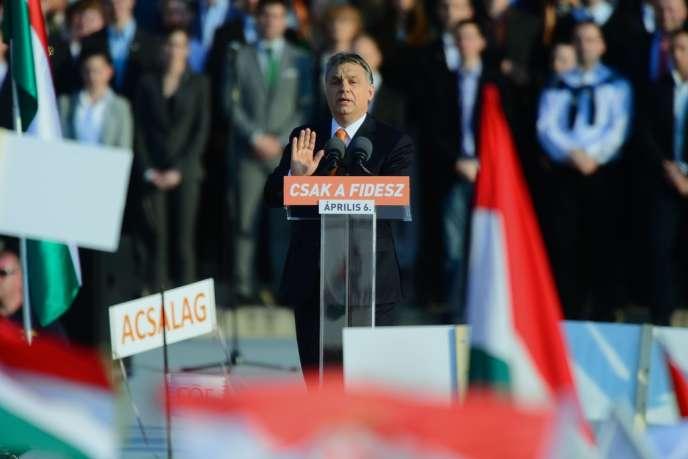 Viktor Orban, le 27 mars à Budapest.