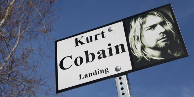 Un portrait à Aberdeen, la ville natale de Kurt Cobain, en avril 2014.