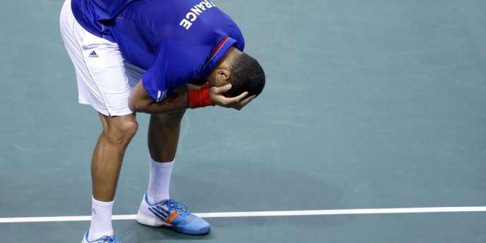 Jo-Wilfried Tsonga, 12ejoueur mondial, s'est incliné le 4 avril à Nancy face au 119ejoueur mondial.