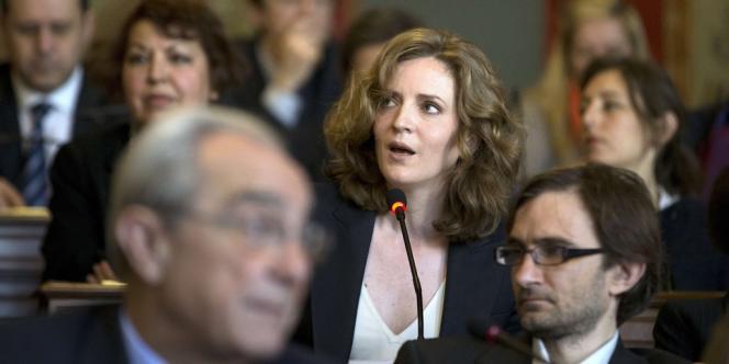 La séance a été marquée par le ton offensif de la première opposante de la socialiste, Nathalie Kosciusko-Morizet (UMP).