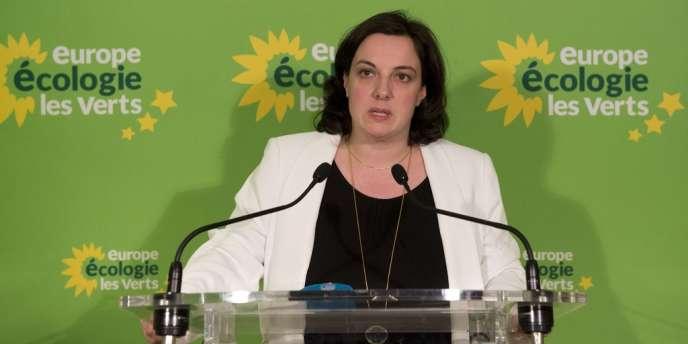 Emmanuelle Cosse, à Paris, le23mars2014.