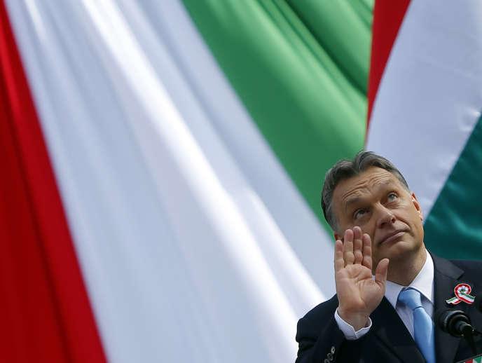 Le premier ministre hongrois Viktor Orban, le 15 mars à Budapest.