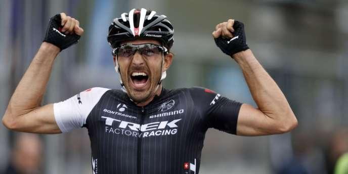 Le Suisse Fabian Cancellara a remporté son troisième Tour des Flandres, le 6 avril.