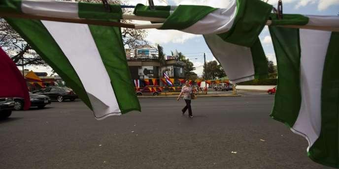 A San José, la veille du second tour de l'élection présidentielle au Costa Rica.