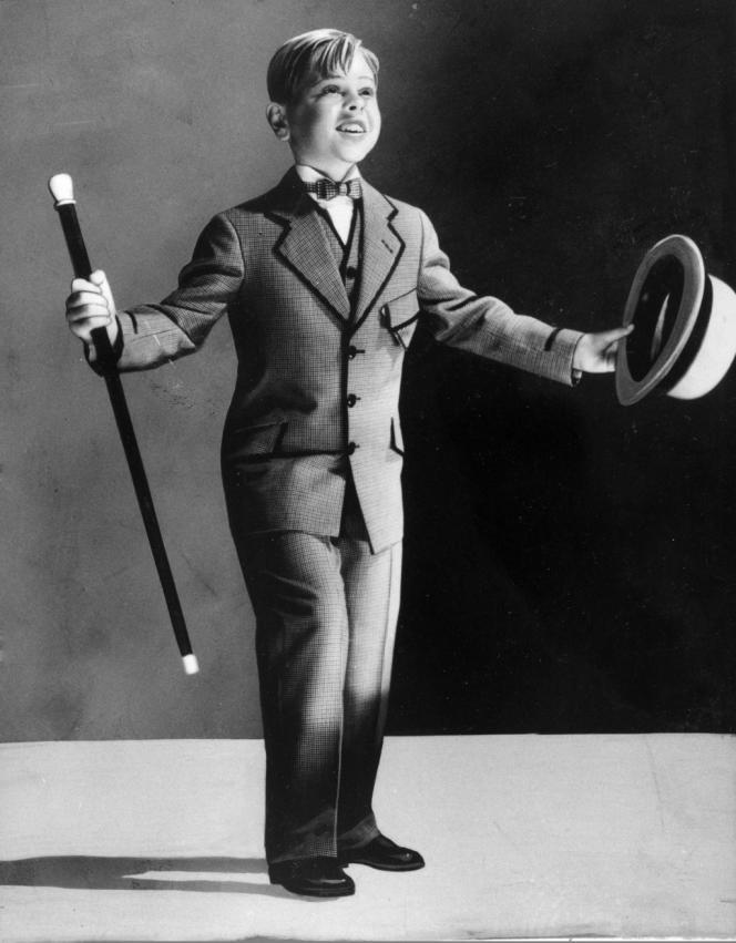 Mickey Rooney en enfant star, à l'age de 7ans.