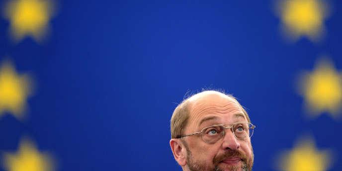 Le président du Parlement européen Martin Schulz à Strasbourg, le 2 juillet 2013