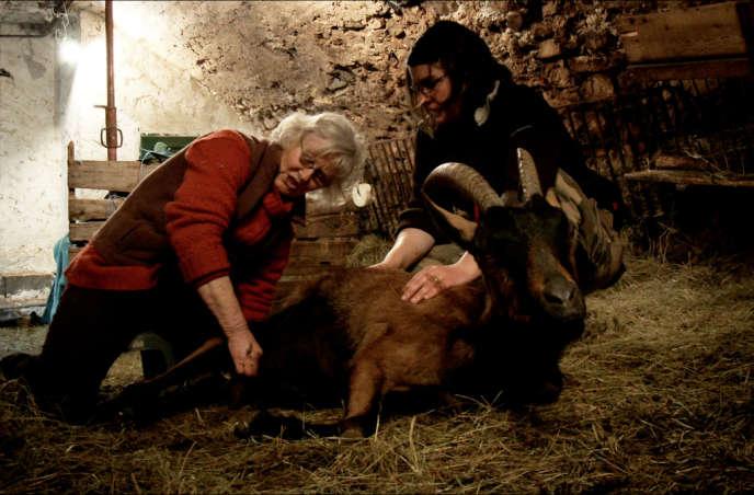 Maguy Audier et Anne-Sophie Vurchio dans le film documentaire français de Sophie Audier,