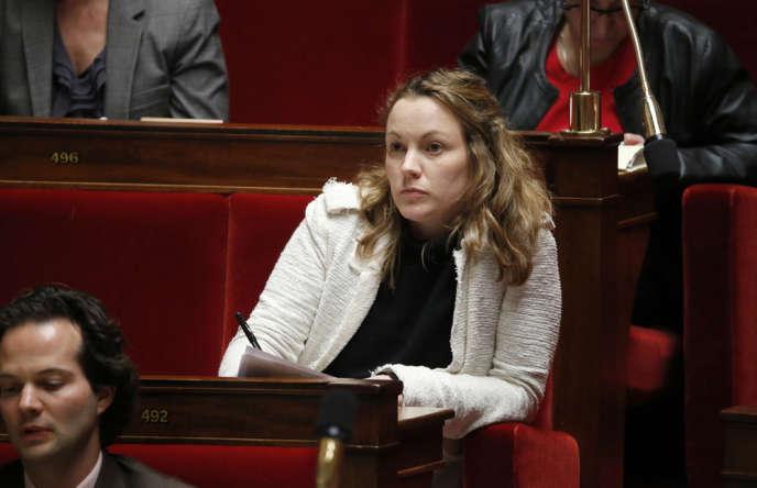 Axelle Lemaire, secrétaire d'Etat à l'économie numérique, le 20 janvier, à l'Assemblée nationale.