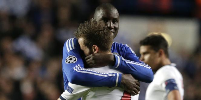Demba Ba, le Français de Chelsea fossoyeur des espoirs du PSG en Ligue des champions.