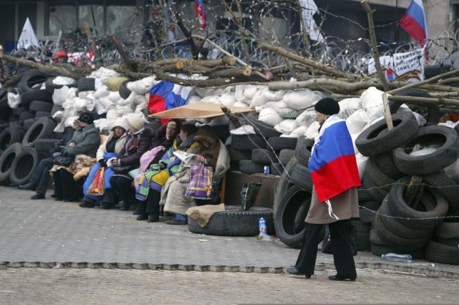 A Donetsk, le 9 avril.