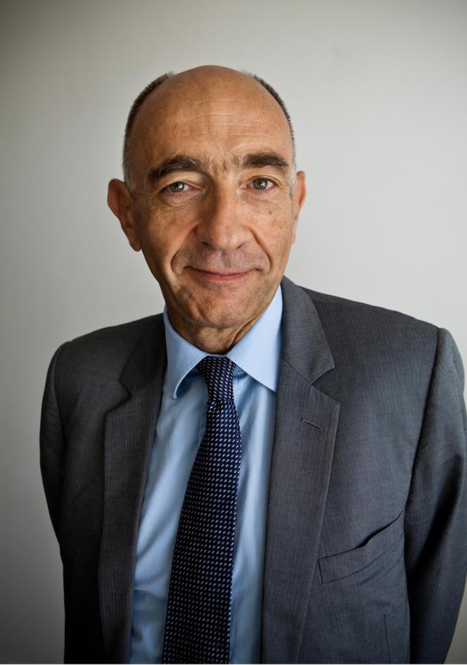 Jean-Marc Janaillac  a été nommé PDG de l'opérateur de transport français Transdev en décembre 2012.