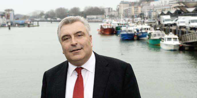 Frédéric Cuvillier secrétaire d'Etat aux transports.
