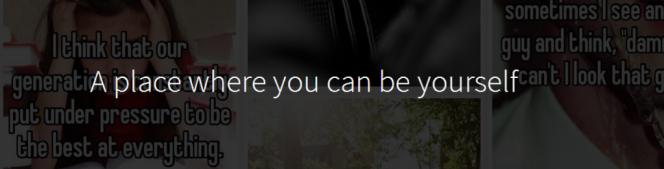 Capture d'écran du site de l'application Whisper.