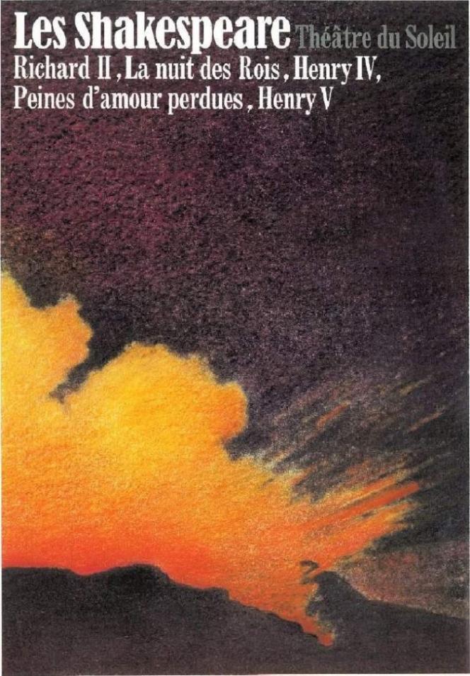 L'affiche de la série des Shakespeare, 1981-84.