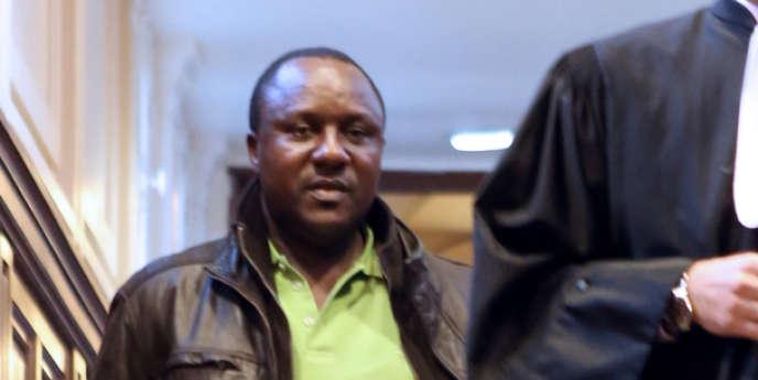 Claude Muhayimana, le 13 novembre 2013 à Paris.