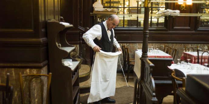 Un serveur parisien.