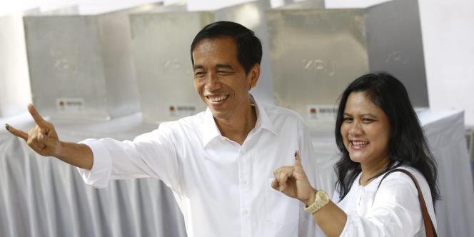 Joko Widodo était favori de la présidentielle après la victoire de son parti aux législatives avec 20 % des suffrages remportés.