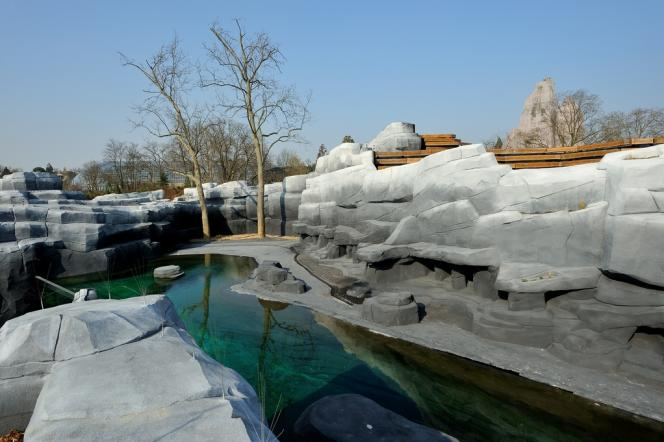 Les bassins sont l'autre richesse de Vincennes, un pour les phoques et un pour les lamentins.