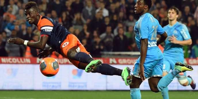 Marseille s'est imposé 3 à 2 face à Montpellier, vendredi.