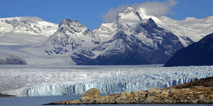Glaciers en Patagonie.