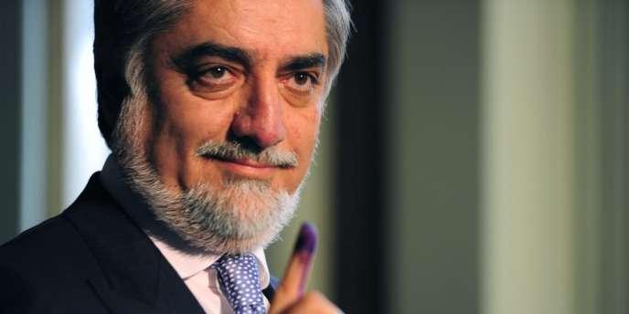 Le candidat à la présidentielle Abdullah Abdullah, le 5 avril.