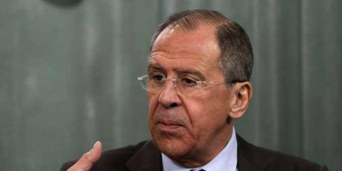 Sergueï Lavrov, ministre des affaires étrangères de la Russie, le 4avril.