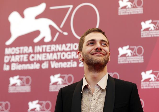 Le réalisateur québécois Xavier Dolan lors de la projection de son film