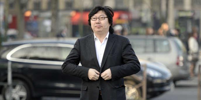 Jean-Vincent Placé, le 12mars à Paris