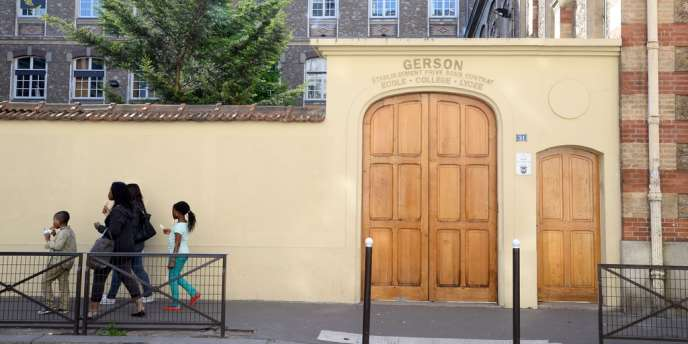 Le lycée catholique Gerson, à Paris.