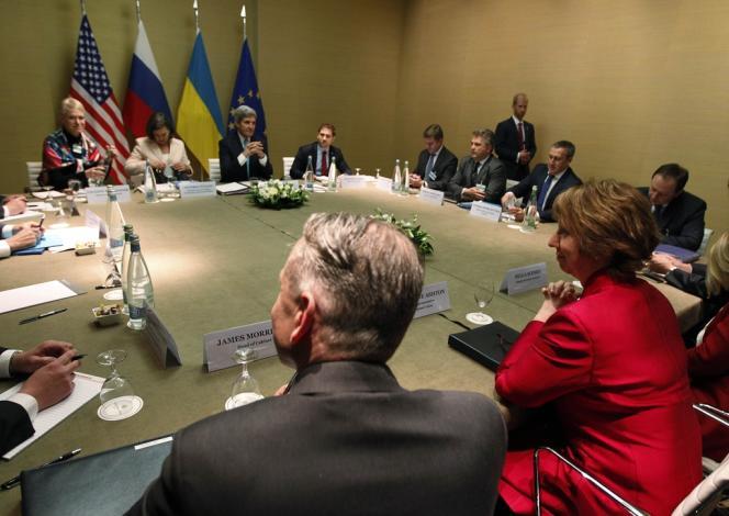 Réunion quadripartite à Genève entre Russie, Etats-Unis, Europe et Ukraine, jeudi 17 avril.