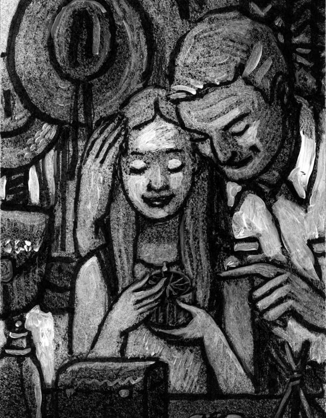 Illustration de Götting pour « Cannibales ».
