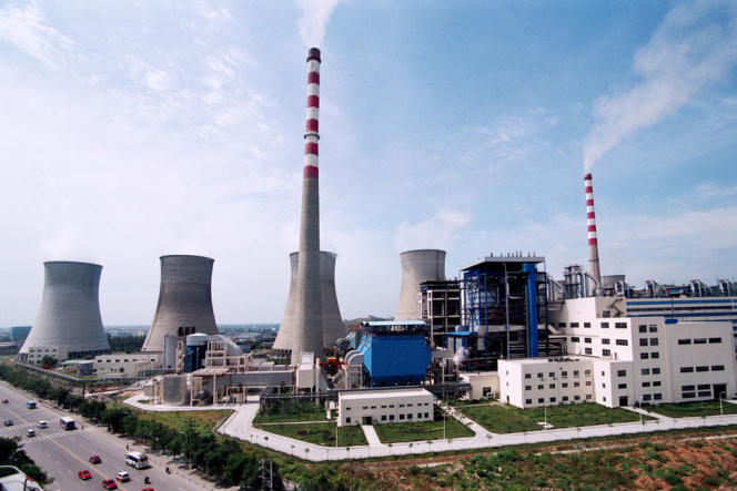 Les trois quarts de l'énergie chinoise sont produits par des centrales au charbon.