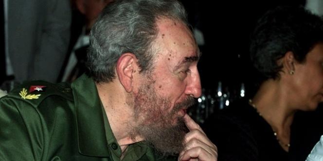 Fidel Castro et Gabriel Garcia Marquez, en 2000.
