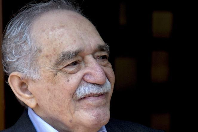 L'écrivain colombien Gabriel Garcia Marquez, le 6mars, lors de son 87e anniversaire, à Mexico.