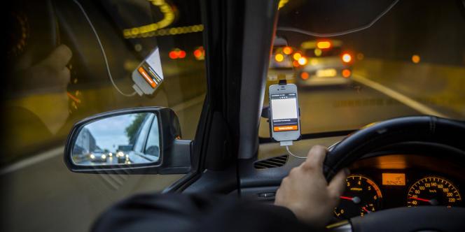Le service UberPop de « covoiturage urbain » a été lancé le 24 février à Bruxelles.