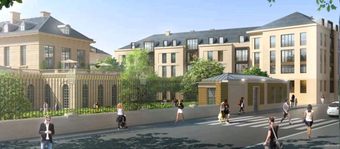 L'ancien hôpital accueillera des logements, des commerces, des bureaux, une crèche et un centre culturel.