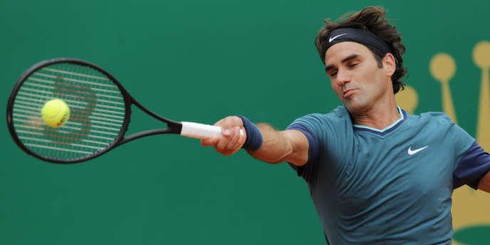 Le n°4 mondial Roger Federer.