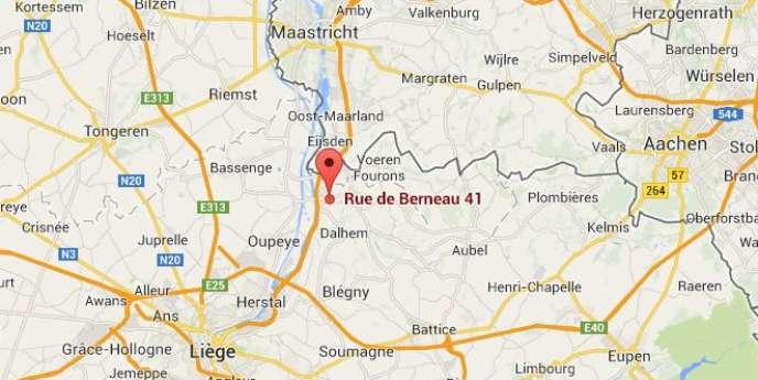 Un couple, accompagné d'un enfant, entrait dans son habitation, au 41 rue de Berneau à Visé, lorsque des coups de feu ont été tirés.
