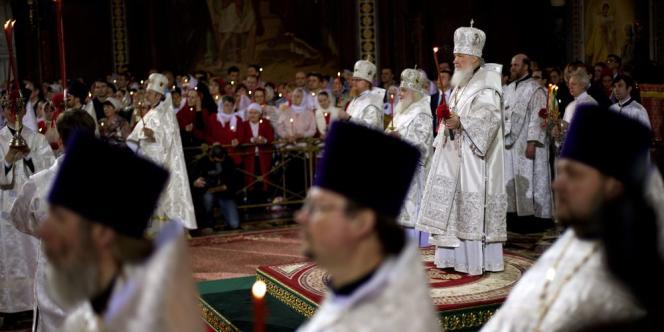 A Kiev, le patriarche ukrainien Filaret a assuré que l'« ennemi » russe était condamné à l'échec tandis que le patriarche russe Kirill (photo) a dénoncé ceux qui « veulent détruire la sainte Russie ».