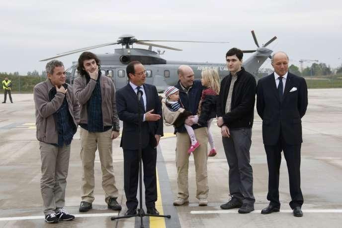 Revenus en France au cours du week-end, les otages détenus en Syrie sont longuement revenus sur leurs conditions de détention, moins sur leur libération.