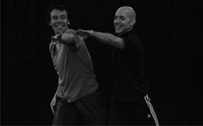 Nicolas Le Riche et Russell Maliphant (à droite) dans