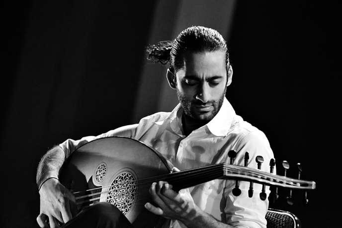 Le joueur de oud (luth arabe), Adnan Joubran.