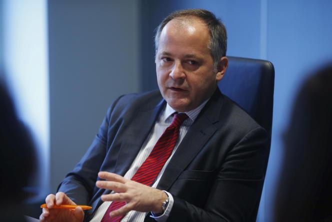 Benoît Cœuré, membre du directoire de la Banque centrale européenne, le 12 février, à Francfort.